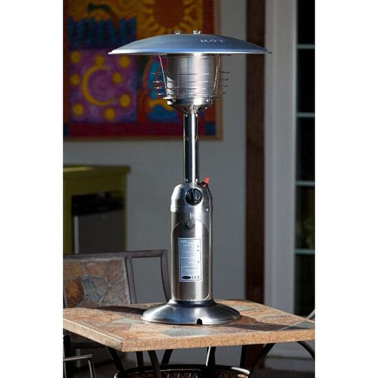 Paramount Stainless Steel Tabletop Propaine Patio Heater