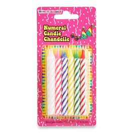 Spiral Birthday Candles - 12pk.