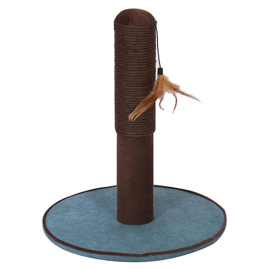 Pet Pals Grove Chenille Scratching Post with Toy