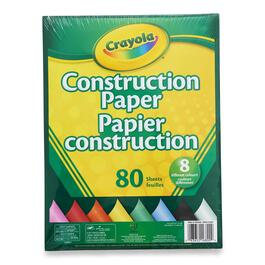 Crayola Construction Paper - 80pk.