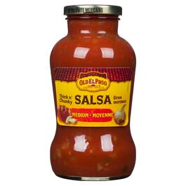 Old El Paso Medium Thick n' Chunky Salsa - 650ml