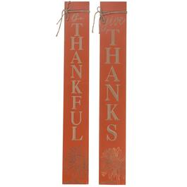 IH Casadecor Etched Fall Wall Plaques - 2pc.