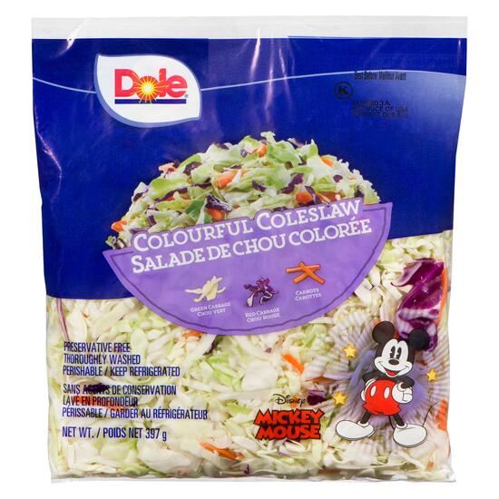 Dole Colourful Coleslaw - 397g