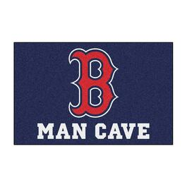 MLB Boston Red Sox Man Cave Starter Rug - 19in.x30in.