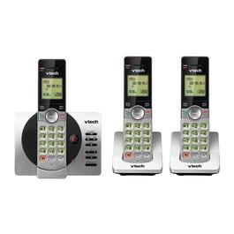 VTech 3-Handset DECT 6.0 Cordless Phones with Answering Machine and Caller ID/Call Waiting - Silver