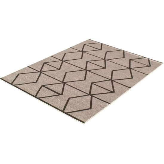 eCarpetGallery Ana Grey/Brown Area Rug