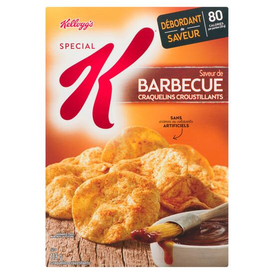 Special K  Barbecue Cracker Chips - 113g