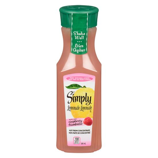 Simply Lemonade with Raspberry - 340ml