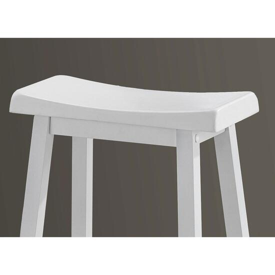 Monarch Specialties Saddle Seat Barstools - 2pc.