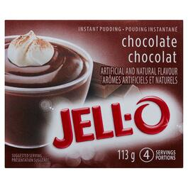 Jell-O Chocolate Instant Pudding - 113g