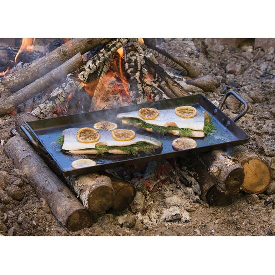 Lodge Seasoned Carbon Steel Griddle - 18in.