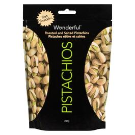 Wonderful Roasted and Salted Pistachios - 200g