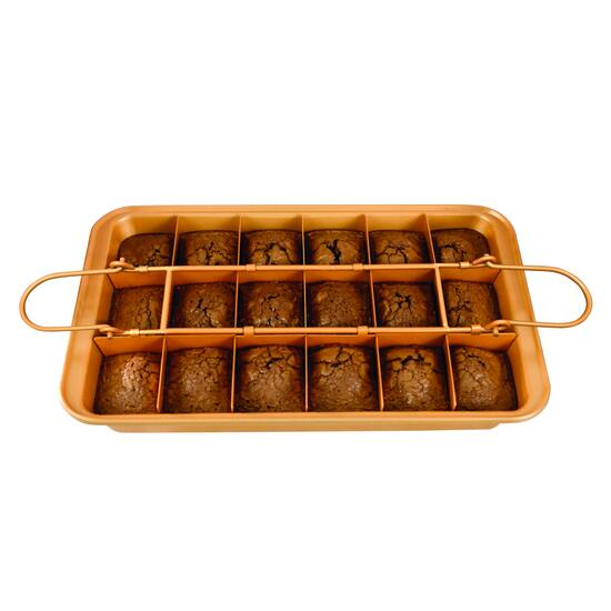 As Seen On TV Brooklyn Brownie Baking Pan