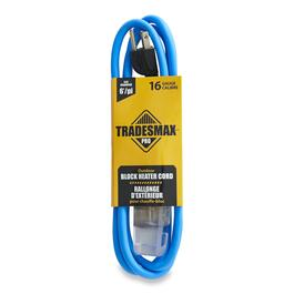 Tradesmax Pro Block Heater Extension Cord