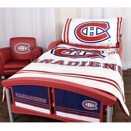 NHL Montreal Canadiens Toddler Bedding Set - 3pc.
