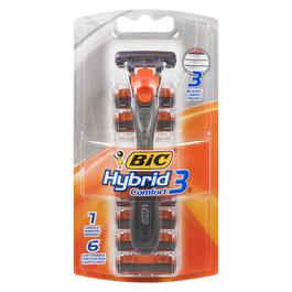 BIC Hybrid Advance 3 Mens Razor - 6pk.