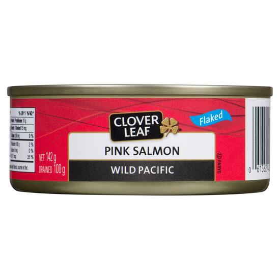 Clover Leaf Pink Salmon Wild Pacific - 142g