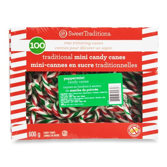 Mini Candy Canes - 100pc.