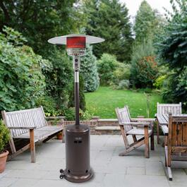Dyna Glo Deluxe Patio Heater - Hammered Bronze