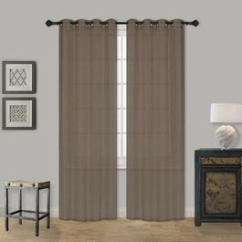 IH Casadécor Voile Crushed Curtain Panel - 84in.