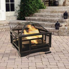 Pleasant Hearth Solus Fire Pit - 26 in.