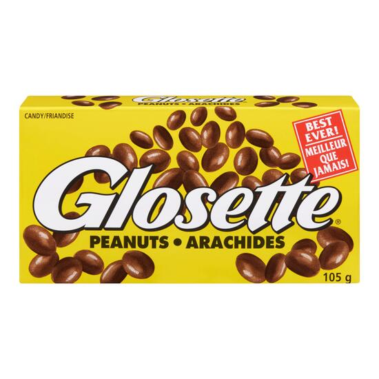 Hershey's Glosette Chocolate Covered Peanuts - 105g
