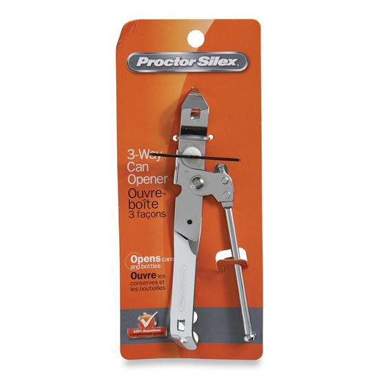 Proctor Silex Chrome Can Opener