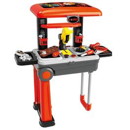 Toy Chef 2-In-1 Children's Portable Tool Set Station