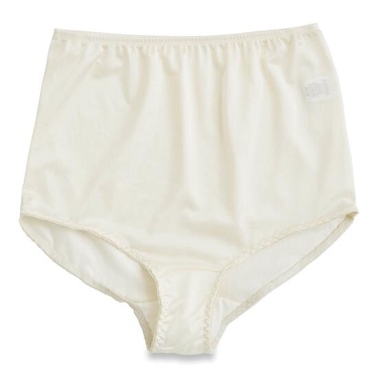 Classic Editions Women's Ivory Antron Brief - M-XL
