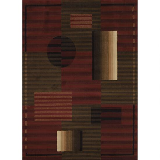 Segma China Garden Collection Opus Rug - Auburn