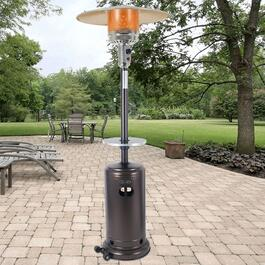 Dyna-Glo Hammered Bronze Table for Patio Heater