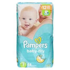 Pampers Baby Dry Jumbo Pack - 44pk.