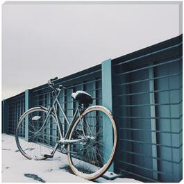 Blue Bicycle - 18in. x 18in.