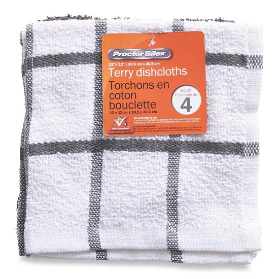 Terry Dish Cloths - 4pk.