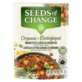 Seeds of Change Indian Style Lentils & Chickpeas - 250ml