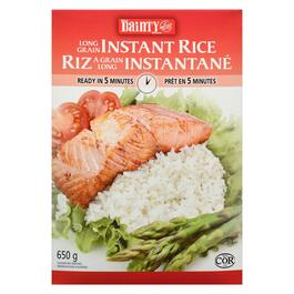 Dainty Rice Long Grain Instant Rice - 650g