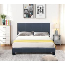 Valencia Black Double Bed Frame