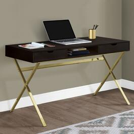 Monarch Specialties Cappuccino Computer Desk - 48in.