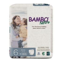 Bambo Nature Size 6 Training Pants 5 x 18pk.