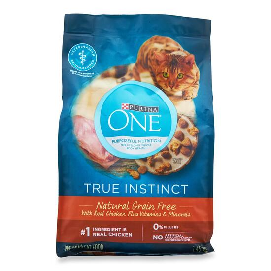 Purina One Natural Grain Free Chicken Cat Food - 1.45g