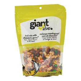Giant Value Trail Mix with Chocolate Gems - 400g