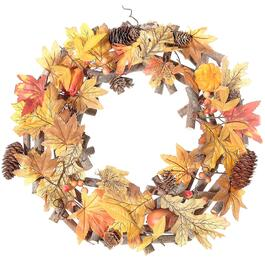IH Casadecor Autumn Leaves Wreath
