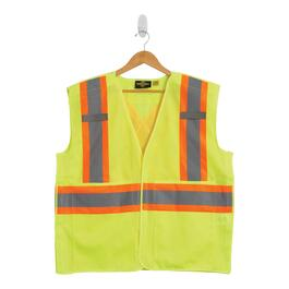 Tradesmax Pro Yellow High Visibility Safety Vest - L-XL