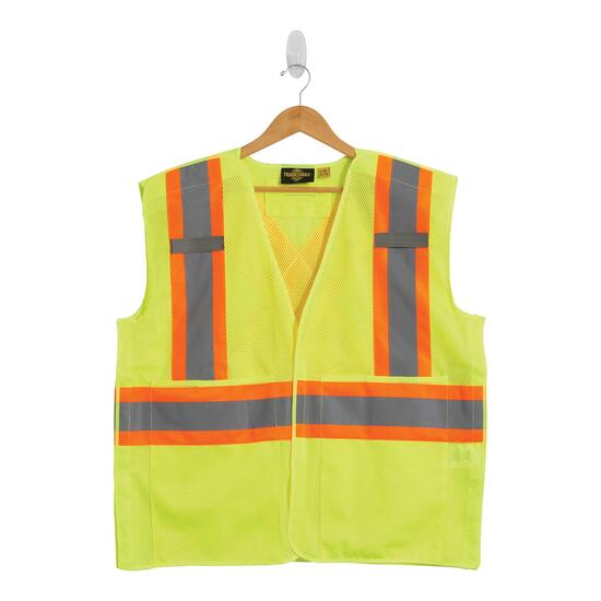 Tradesmax Pro Yellow High Visibility Safety Vest - 2XL-3XL