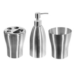 Anita Stainless Steel Bathroom Set - 3pc.