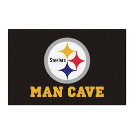 NFL Pittsburgh Steelers Man Cave Starter Rug - 30in.