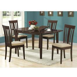 Monarch Specialties Dining Table with Leaf- Cappuccino