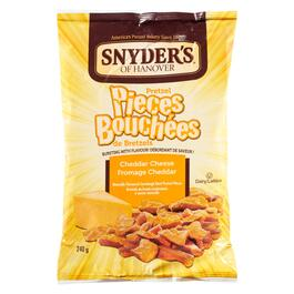 Snyder's of Hanover Cheddar Cheese Pretzel Pieces - 240g