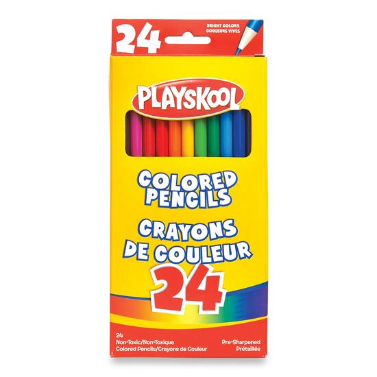 Playskool Coloured Pencils - 24pc.