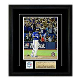 Frameworth Pin and Plate Frame - Jose Bautista - Toronto Blue Jays